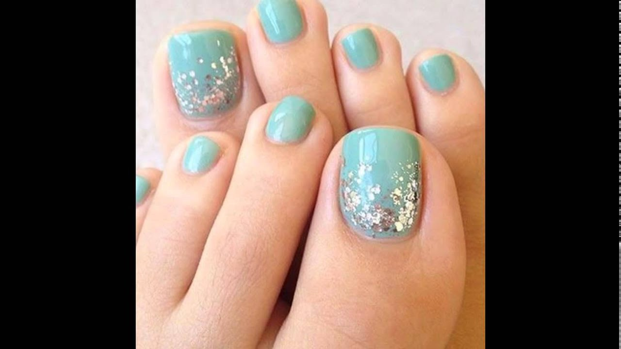 Unas Para Los Pies Decoradas Toe Nail Art Youtube