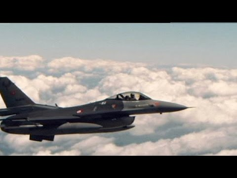 يورو نيوز: الطيران الحربي التركي يشنّ أولى غاراته ضد تنظيم