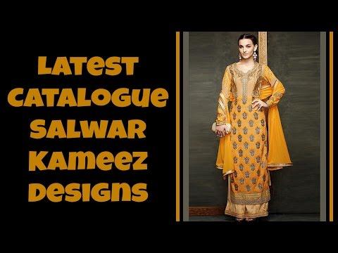 Latest Catalogue Salwar Kameez Designs