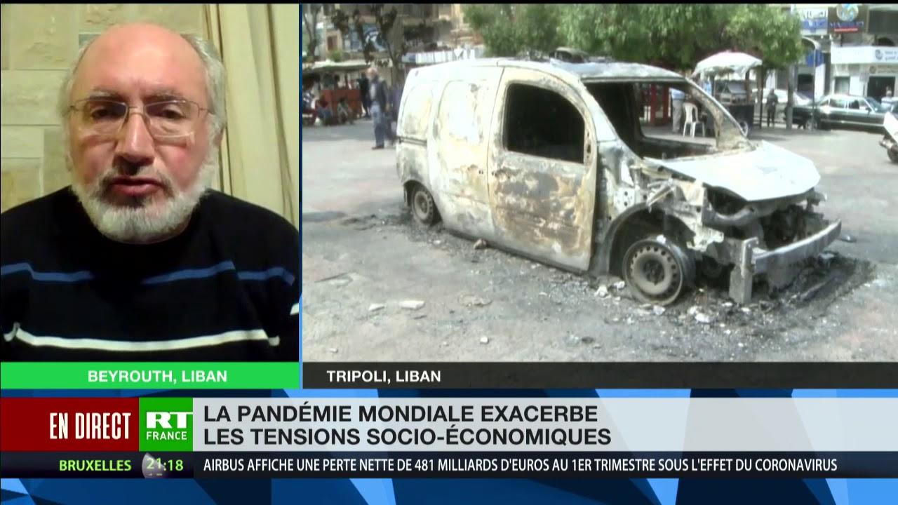 Emeutes au Liban : l'armée libanaise poussée à la confrontation avec la population ?