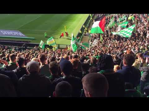 Callum McGregor Song Part2   Green Brigade   Celtic vs Hibs