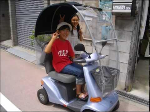 セニアカーの屋根、電動4輪車 ... : 三輪自転車 電動 試乗 東京 : 自転車の