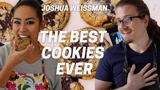 I MADE Joshua Weissman&#39s Ideal Chocolate Chip Cookies + A Cookie Hack  Was It Actually Perfect?