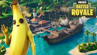NEW Fortnite Glitch!! Cannon Banana!!