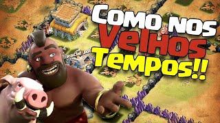 Voltando as antigas - Clash of Clans - Entrem no meu clã