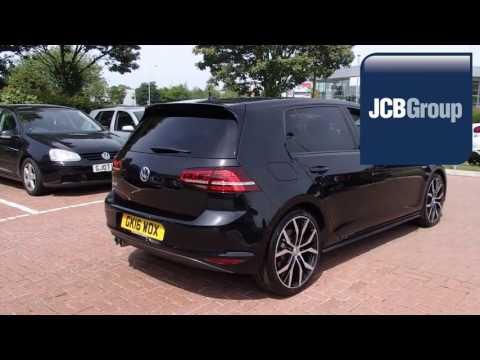 GK16WOX Volkswagen Golf 2.0 TDI GTD (184 PS) DSG 2l JCB VW ASHFORD