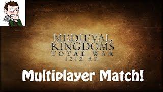 Medieval Kingdoms Total War 1212 AD Multiplayer Match! (Total War: Rome 2 Medieval Mod)