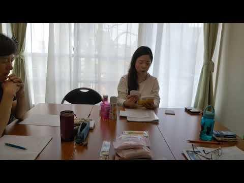 朗読塾リヴ 朗読の様子 「角田光代」作品 1