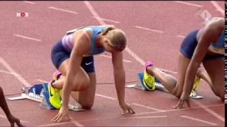 Dafne Schippers 100m woman's 11 08 Hengelo june 11 2017