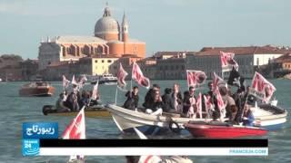 فيديو| البندقية.. مدينة العشاق تهددها السفن