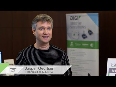 30MHz Selects Digi XBee for Smart Sensing Solution