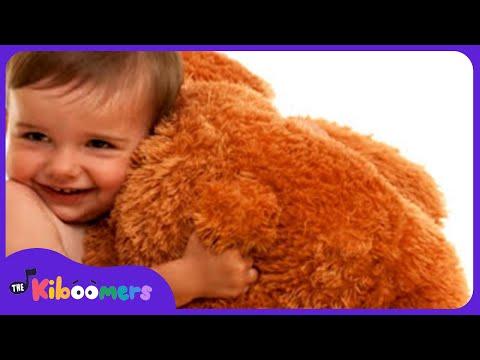 Teddy Bear Teddy Bear Turn Around | Teddy Bear Song | Nursery Rhymes | The Kiboomers