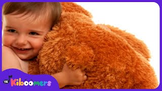 Teddy Bear Teddy Bear Turn Around | Teddy Bear Song | Nursery Rhymes | The Kiboomers