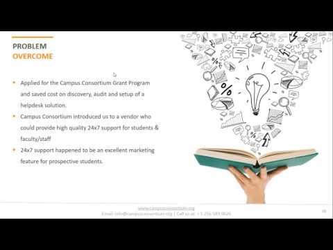 Campus Consortium Webinar Featuring $20,000 Grant Award Winner William Woods University