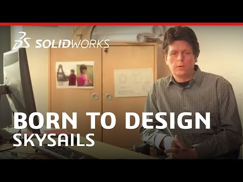 SkySails uses the power of wind to propel 30,000 ton ships on the seas - SOLIDWORKS