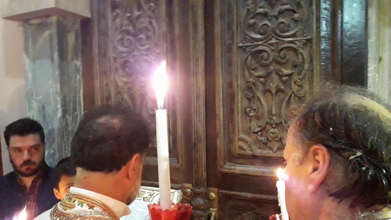 Αρατε πύλας, I. N. Ευαγγελιστρίας Ακλειδιού Μυτιλήνης, 2019 - YouTube