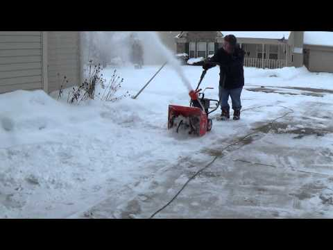 James Burlander - 82-Year-Old Snow Blowin' Granny! Watch Her Blow It All Away!