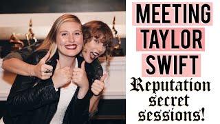 Meeting Taylor Swift at her house!