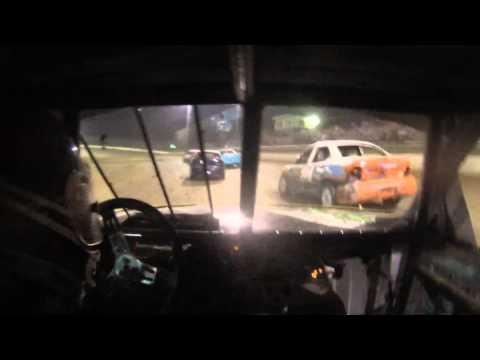 Moler Raceway Park A-Main 4/6/2015 In Car with Justin Dalton