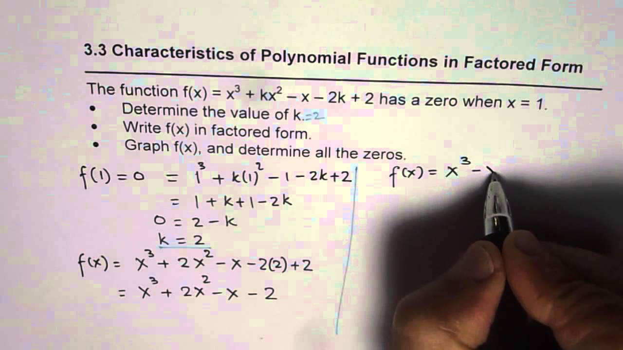 Convert standard to factored form and sketch graph of polynomial convert standard to factored form and sketch graph of polynomial falaconquin