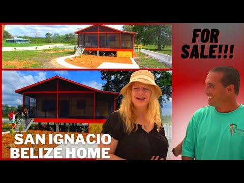San Ignacio Belize home for sale with Drone video