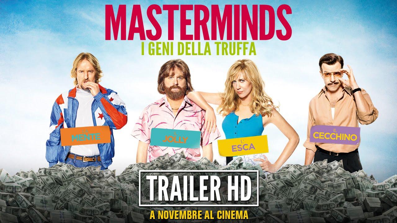 MASTERMINDS - I GENI DELLA TRUFFA - Trailer Ufficiale Italiano | HD