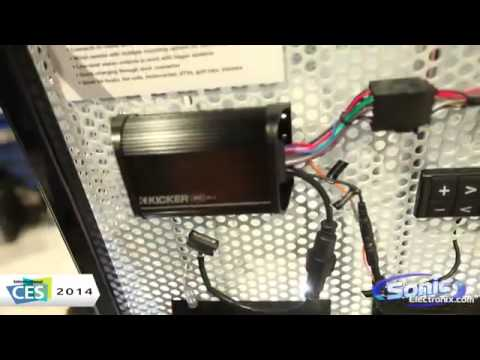 Kicker Power Sports PXiBT50 2 Bluetooth Amplifier   CES 2014