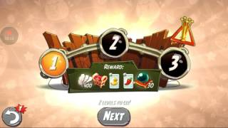 Angry birds 2 -Walkthrough part 1getting a full set of ×3 hat set finnaly