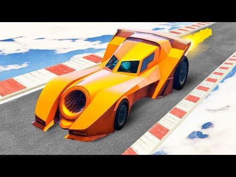 NEW BATMOBILE RACES! (GTA 5 Races)
