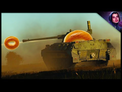 New Yorker Tries his First Bagel || War Thunder Tank Gameplay