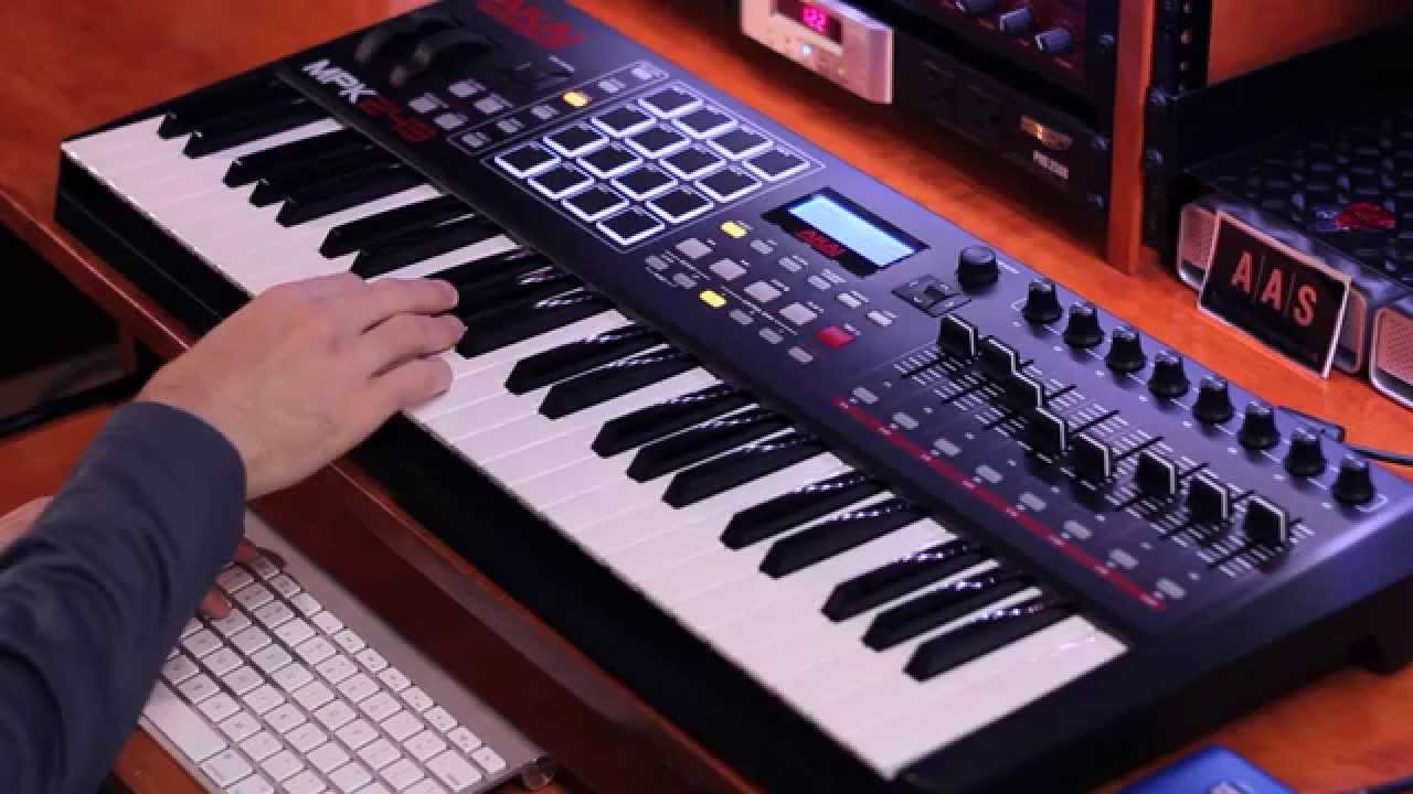AAS Session Bundle electric piano, analog synthesizer, and acoustic