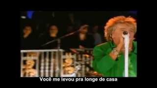 Rod Stewart - Maggie May, Live (Legendado/Português)