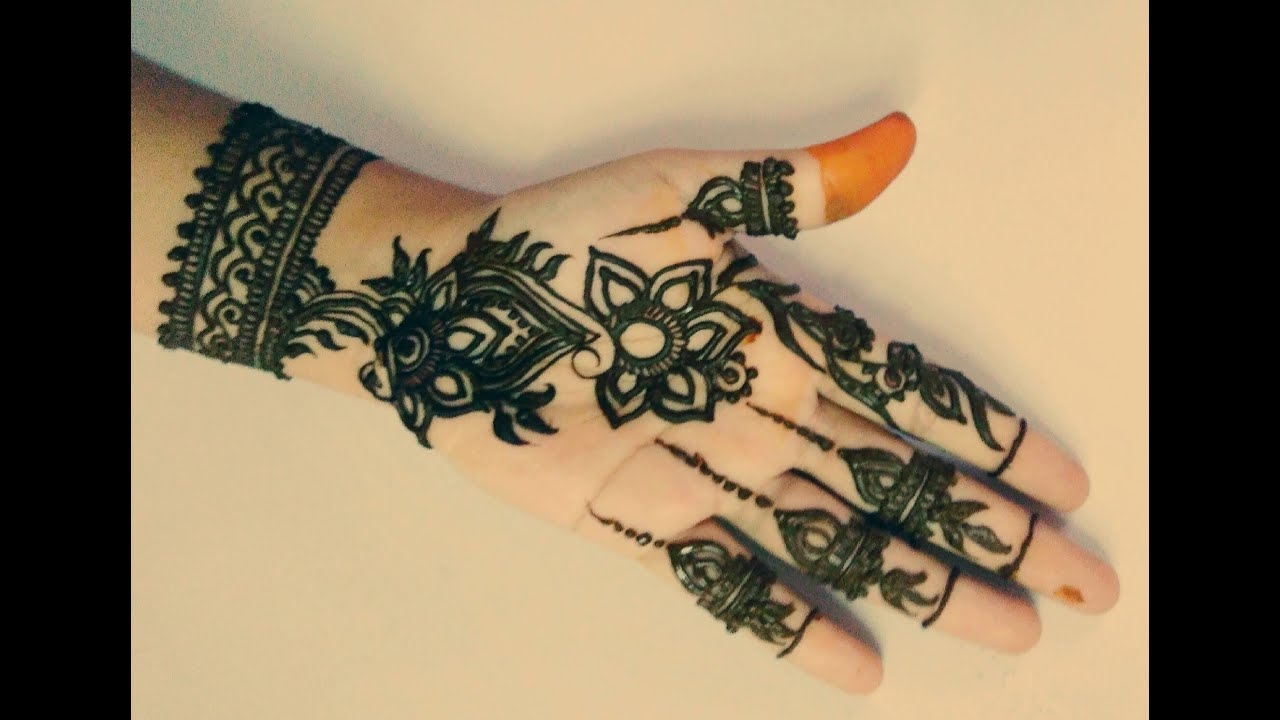 Wrist Tattoo Designs Henna Eid: Eid Mehndi Designs 2016 Flower Henna Design Naush