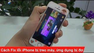 Sửa lỗi iPhone bị treo máy