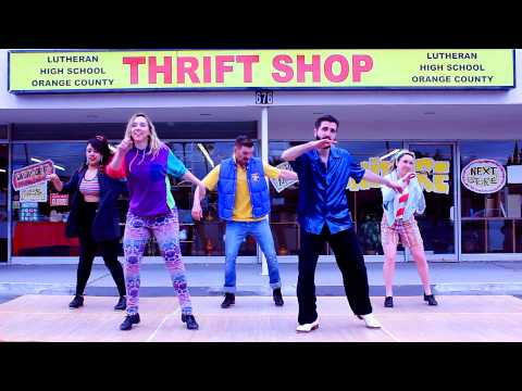 """Poppin' Taps, Macklemore & Ryan Lewis Cover - A """"Thrift Shop"""" Tap Dance Parody"""