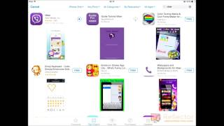 How to download Viber your Ipad