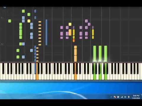 99 Luftballons   Nena [Piano tutorial by Synthesia]