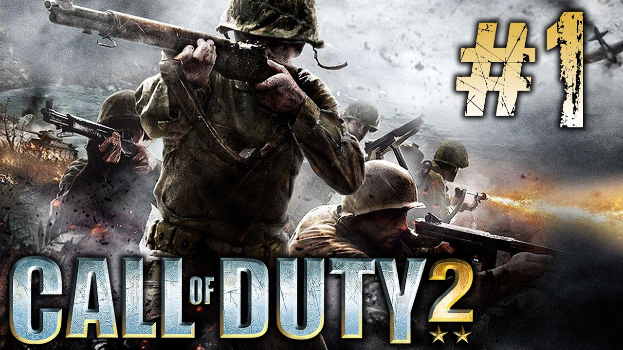 Call Of Duty 2 Gameplay Walkthrough Part 1 Youtube