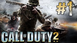 Let's Play Call Of Duty 2 (PC Gameplay) - Part 1