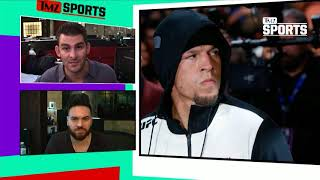 Nate Diaz Says He Might Bail from UFC 230, 'We'll See How I Feel' | TMZ Sports