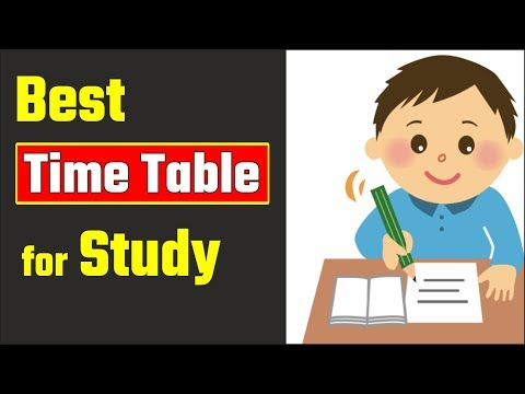 Best Time Table For Study, How Toppers Make Their Time Table, #arvindacademy