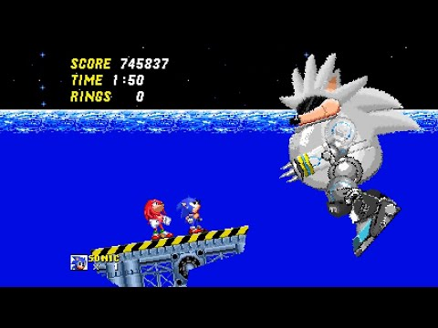 I thought this was Sonic 2 - SILVER edition - Act 2