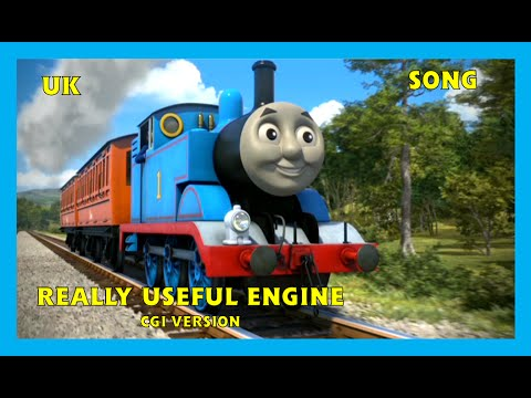 Really Useful Engine - CGI Version - UK - HD