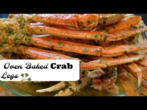 Cook With Me My Delicious Oven Baked Crab Legs With Dollar Tree