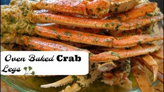 Cook with me - My delicious oven baked crab legs with dollar tree oven bags