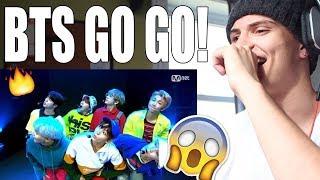 BTS - Go Go (FIRST EVER BTS COMEBACK SHOW) REACTION