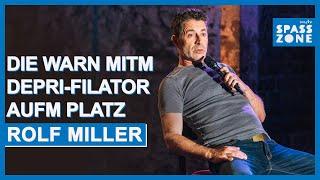 Fußball-EM 2020. Rolf Miller bei Olafs Klub
