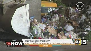 ASU studies your trash to improve recycling efforts