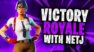NEW MAVEN SKIN -Duos With Netj (Full Fortnite Gameplay)