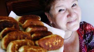 Рецепт пирожков с мясом, творожное тесто от мамы 🍏😋 ✔